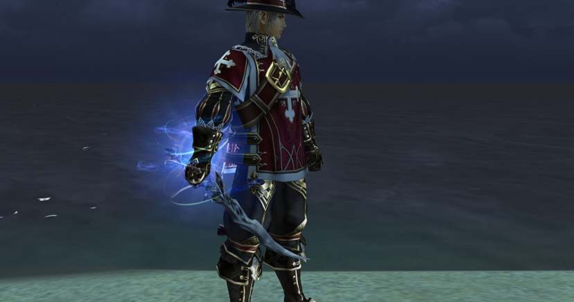 Lineage 2 classic saviors update talisman of insolence vi has a unique blue visual effect on the right hand of the character malvernweather Gallery